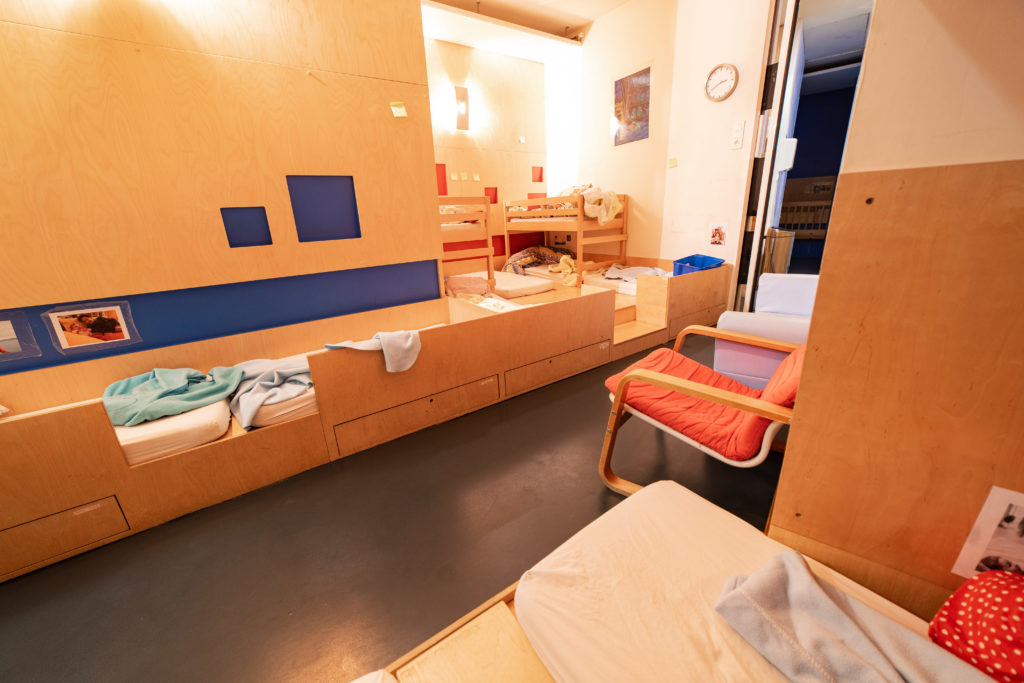Les dortoirs